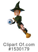 Witch Clipart #1530179 by Julos