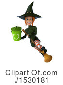 Witch Clipart #1530181 by Julos