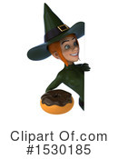 Witch Clipart #1530185 by Julos