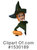 Witch Clipart #1530189 by Julos