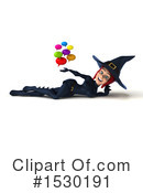 Witch Clipart #1530191 by Julos
