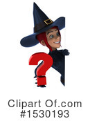 Witch Clipart #1530193 by Julos