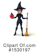 Witch Clipart #1530197 by Julos