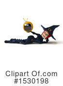 Witch Clipart #1530198 by Julos