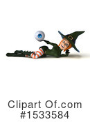 Witch Clipart #1533584 by Julos