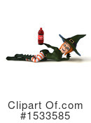 Witch Clipart #1533585 by Julos