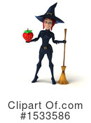 Witch Clipart #1533586 by Julos