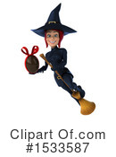Witch Clipart #1533587 by Julos
