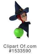 Witch Clipart #1533590 by Julos