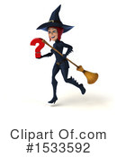 Witch Clipart #1533592 by Julos