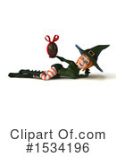 Witch Clipart #1534196 by Julos
