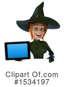 Witch Clipart #1534197 by Julos