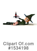 Witch Clipart #1534198 by Julos