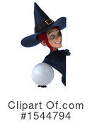 Witch Clipart #1544794 by Julos