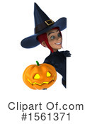 Witch Clipart #1561371 by Julos