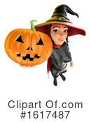 Witch Clipart #1617487 by Texelart