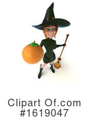 Witch Clipart #1619047 by Julos