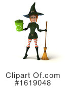 Witch Clipart #1619048 by Julos