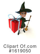 Witch Clipart #1619050 by Julos