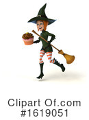 Witch Clipart #1619051 by Julos