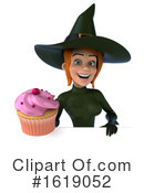 Witch Clipart #1619052 by Julos