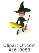 Witch Clipart #1619053 by Julos