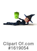 Witch Clipart #1619054 by Julos