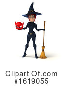 Witch Clipart #1619055 by Julos