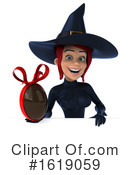 Witch Clipart #1619059 by Julos