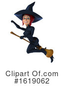 Witch Clipart #1619062 by Julos
