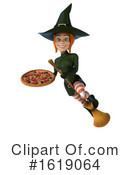 Witch Clipart #1619064 by Julos