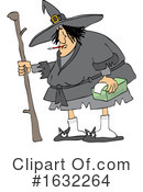Witch Clipart #1632264 by djart