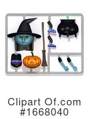 Witch Clipart #1668040 by Steve Young