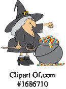 Witch Clipart #1686710 by djart