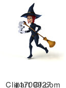 Witch Clipart #1709927 by Julos