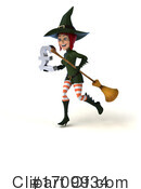 Witch Clipart #1709934 by Julos