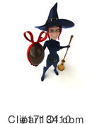 Witch Clipart #1713410 by Julos