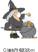 Witch Clipart #1714237 by djart