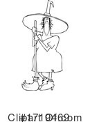 Witch Clipart #1719469 by djart