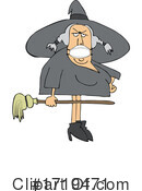 Witch Clipart #1719471 by djart