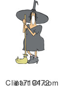 Witch Clipart #1719472 by djart