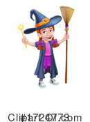 Witch Clipart #1724773 by AtStockIllustration