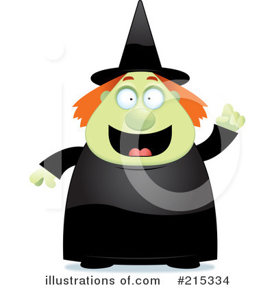 Witch Clipart #215334 by Cory Thoman