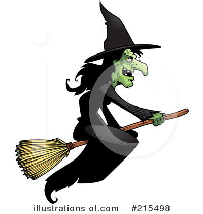 Witch Clipart #215498 by Cory Thoman