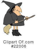 Witch Clipart #22006 by djart