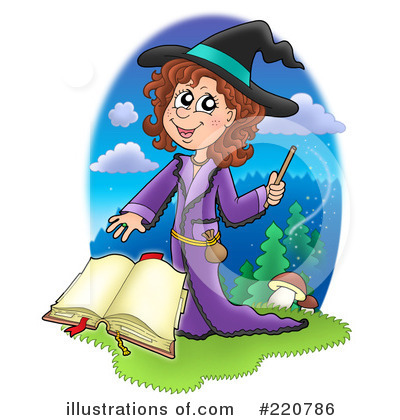 Spell Book Clipart #220786 by visekart