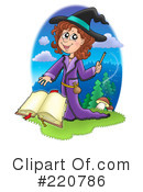 Witch Clipart #220786 by visekart