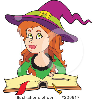 Spell Book Clipart #220817 by visekart