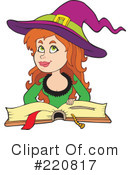 Witch Clipart #220817 by visekart