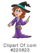 Witch Clipart #220823 by visekart